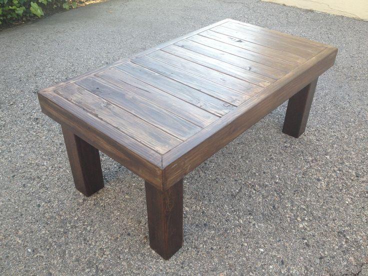 Grey Reclaimed Wood Coffee Table