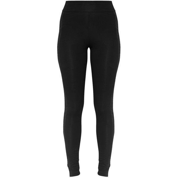 Wanita Camel Fishnet Panel Leggings ($21) ❤ liked on Polyvore featuring pants, leggings, fishnet pants, panel pants, fishnet leggings, legging pants and camel leggings