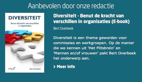 Aanbevolen door de redactie van Managementboek; het e-book 'Diversiteit' van Bert Overbeek. Diversiteit is een thema geworden voor commissies en werkgroepen. Op de manier die we kennen uit 'Het Flitsbrein en 'Mannen en/of Vrouwen' pakt Bert Overbeek het onderwerp aan. #diversiteit #hetflitsbrein #mannenenofvrouwen #bertoverbeek #mgtboeknl #futurouitgevers