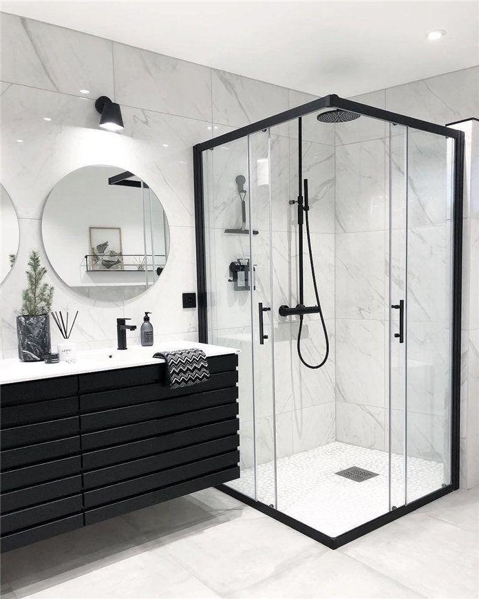 40 Diy Small Bathroom Decor Ideas Soflyme Housegoals In 2020 Modern Luxury Bathroom Elegant Bathroom Design Bathroom Interior Design