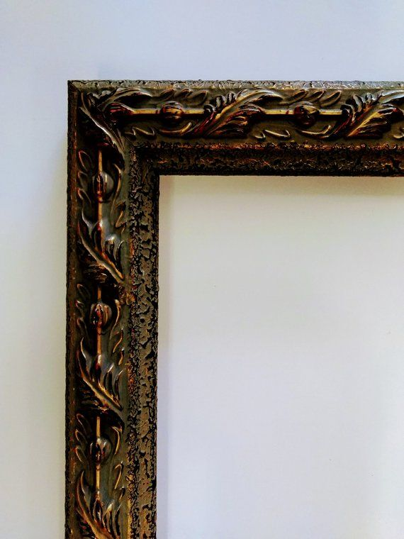 11 X 14 Italian Sculpture Picture Frame Antique Gold Ornate Etsy Italian Sculpture Ornate Picture Frames Frame