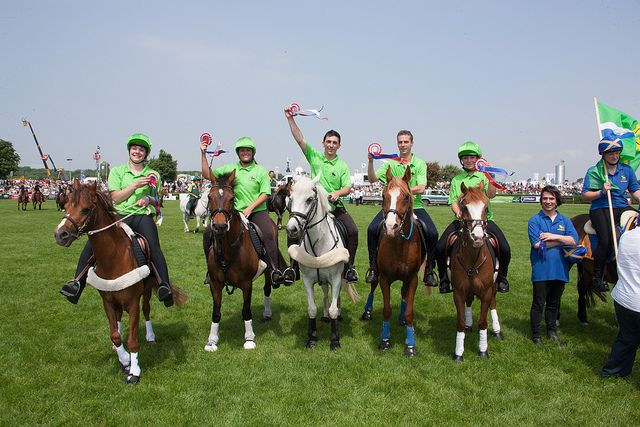 Mounted Games at the Lincolnshire Show