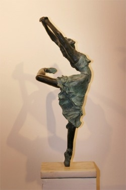 I love Edgar Degas! His sculptures are beautiful, and they make me miss dance