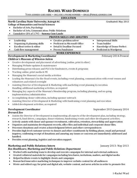 building a resume organization resume and