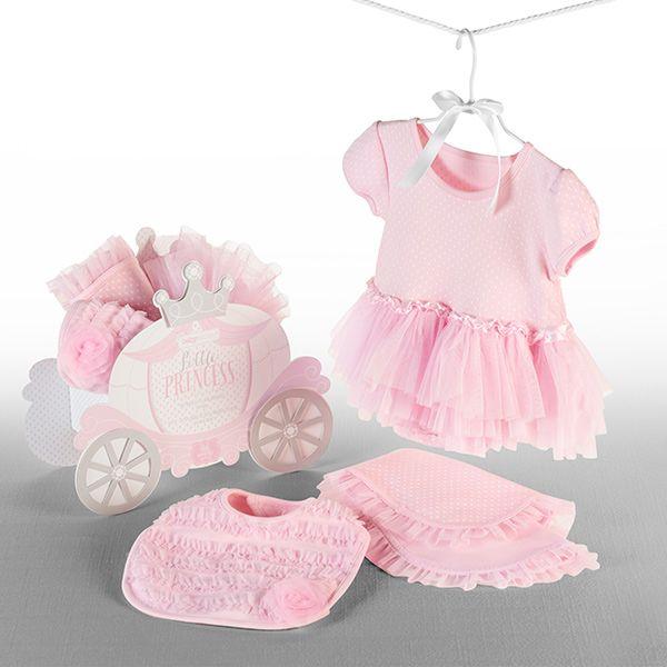 """Little Princess"" Three-Piece Gift Set - Baby Gift Set"