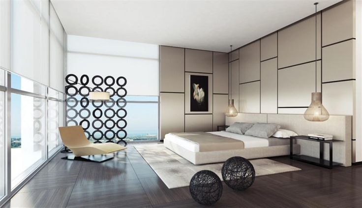 Apartment: Contemporary Hanging Lights In Master Bedroom Ideas ...
