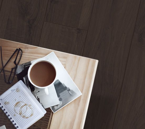 Vue Mountain Oak Heritage Brown | Godfrey Hirst Floors Laminate