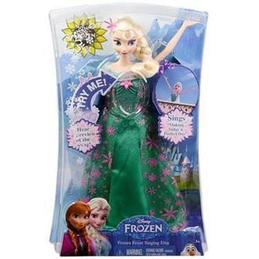 Mattel Disney Frozen Die Eiskönigin singende Elsa
