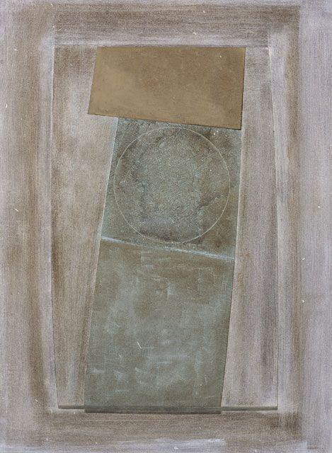 Ben Nicholson, 1967 (an almost green circle), 1967 • Scottish National Gallery…