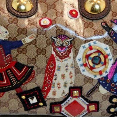 Gucci Designer Handbags For Sale - Gucci Runway Snow Glamour Bunny Rabbit Bag