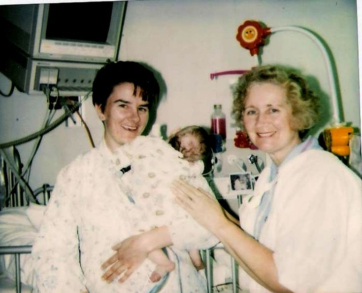 Me working in neo natal intensive care 1995 liverpool