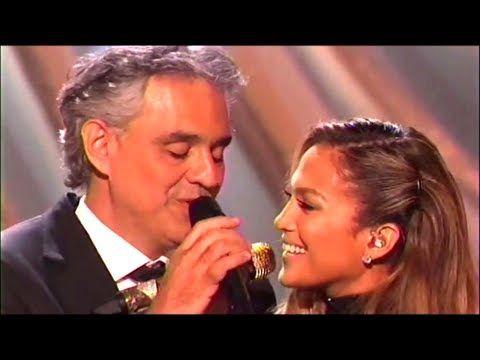 """【HD/CC】Andrea Bocelli-Jennifer Lopez """"Quizas Quizas Quizas"""" (Lyrics) DWT..."""