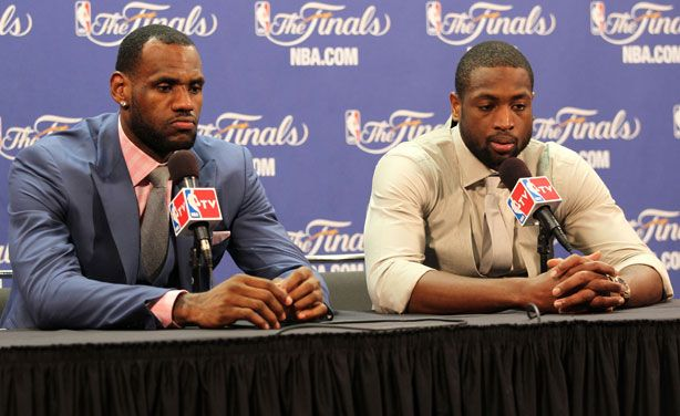 lebron james in street clothes  | LeBron James Press Conference Suit - Lebron James Style NBA Finals ...