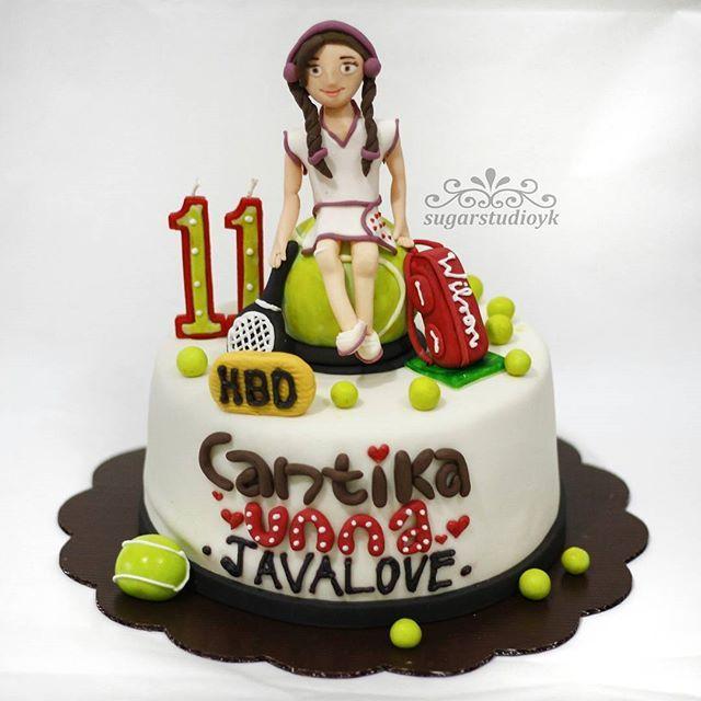 Tenis cake