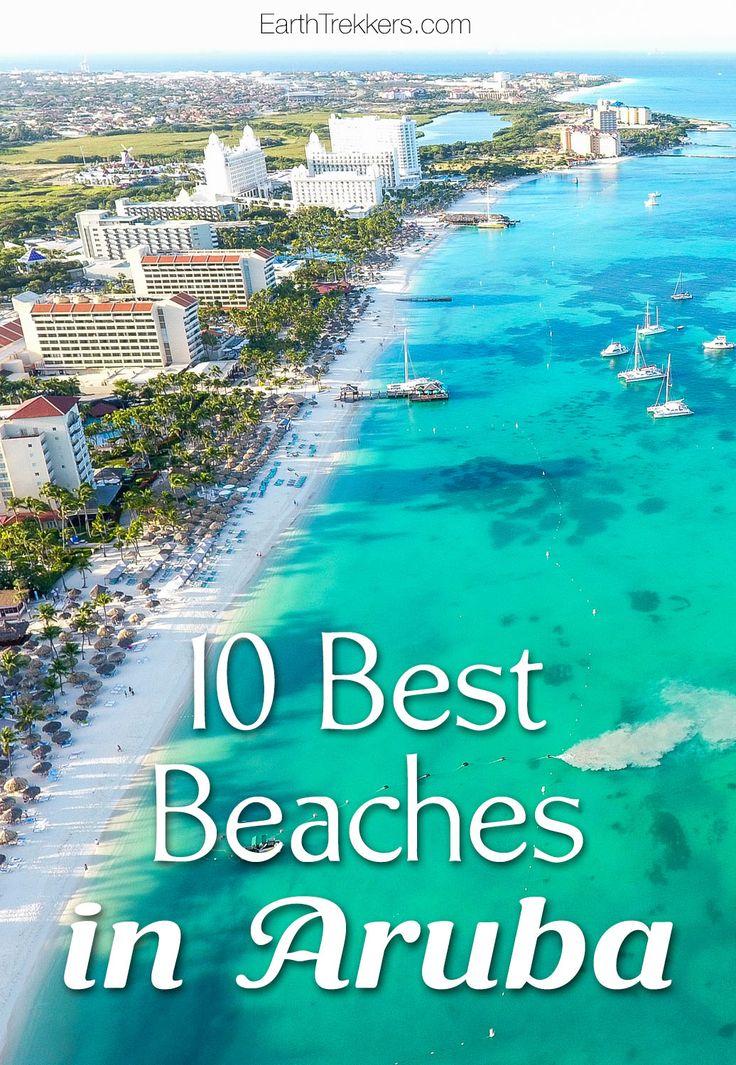 Best Beaches in Aruba: Eagle Beach, Palm Beach, Arashi Beach, and more.