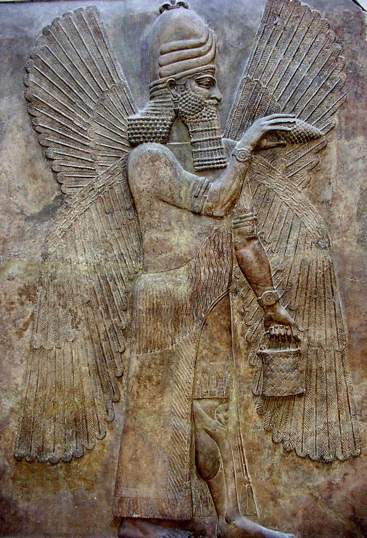 Winged Guardian of the Assyrians