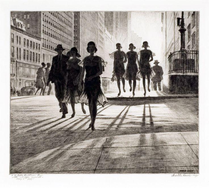 "Martin Lewis ""Shadow Dance"", 1930"