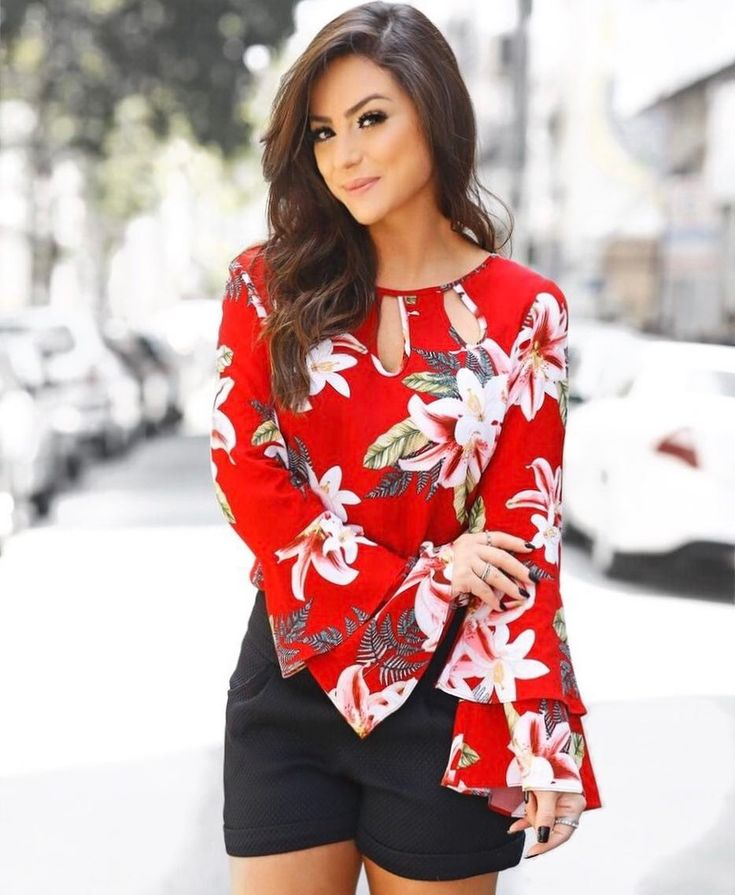 Estampadas blusa