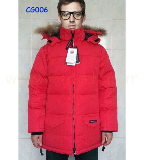 Discount Canada Goose Men's Down Jackets & Coats For Sale Red 3783  http://www.winterselling.com/Discount-Canada-Goose-Mens-Down-Jackets-Coats-For-Sale-Red-3783.html