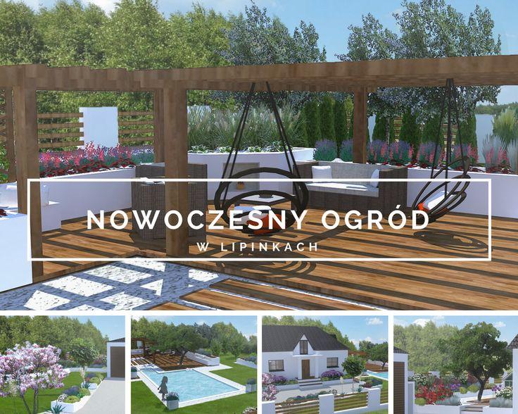 Estetyczne, wielofunkcyjne i nowoczesne projekty ogrodów prywatnych, rabat, balkonów oraz przestrzeni publicznych idealnie dopasowane do potrzeb właścicieli