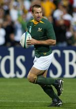 Corne Krige captained the Boks in 1999 and between 2002 and 2003. All in all he captained the Boks 18 times. (Gallo Images)