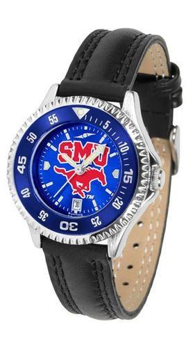 Southern Methodist University Mustangs Ladies Watch AnoChrome Wristwatch