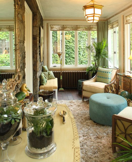 22 Eclectic Porch Ideas: 61 Best Images About Conservatory / Sun Room Ideas On