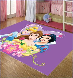 Great Disney Princesses Kids Rug