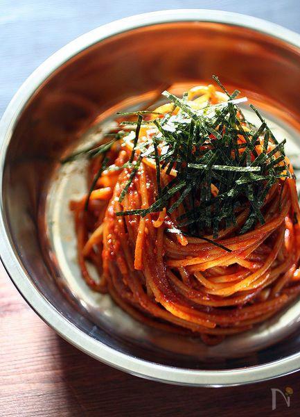 辛口!ビビン麺風スパゲッティ by HIGUCCINI   レシピサイト「Nadia   ナディア」プロの料理を無料で検索