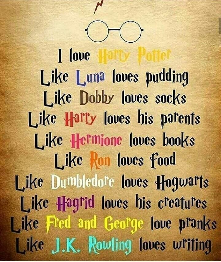I Love Everything In Harry Potter Harry Potter Lustig Zitate Aus Harry Potter Harry Potter Zitate