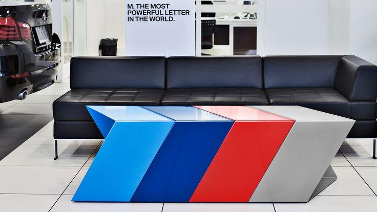 BMW Canada | M Furniture | Automotive, Design, In-store Promotion