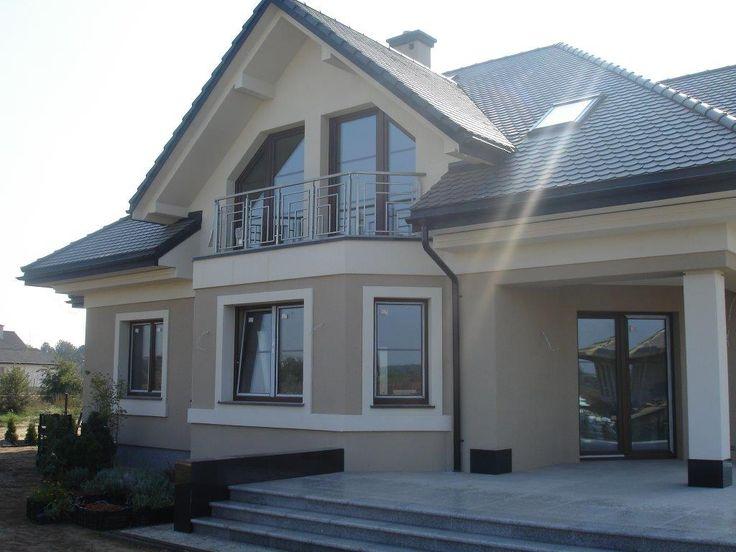 Widok domu Maja 3 #dom #projekt #budowa