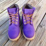 Purple Timberland Boots (Womens' Sizes)