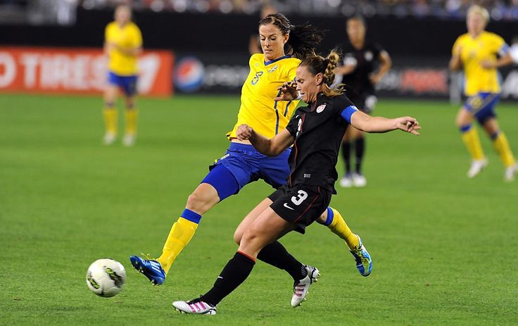 Lotta Schelin, football player