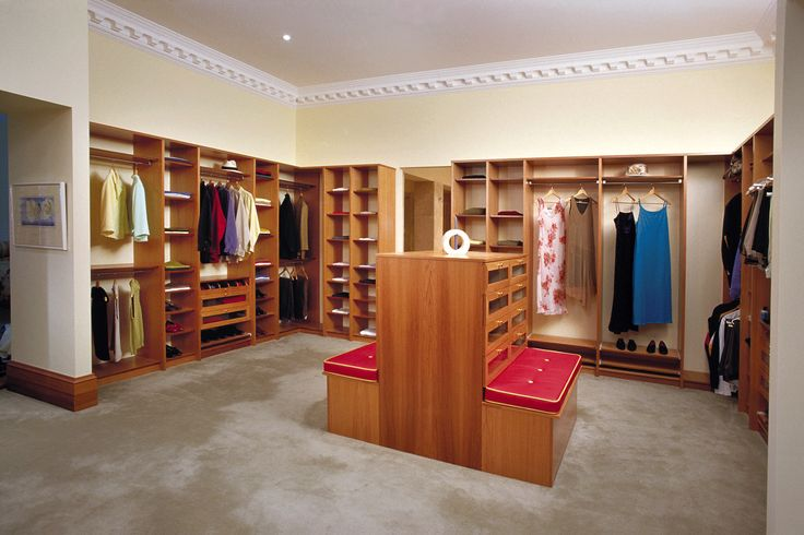 We will custom design separate storage for your clothes and his (more for you of course).