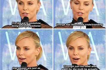 """Charlize Theron Perfectly Responded To A Question About Feminism In """"Mad Max: Fury Road"""""""
