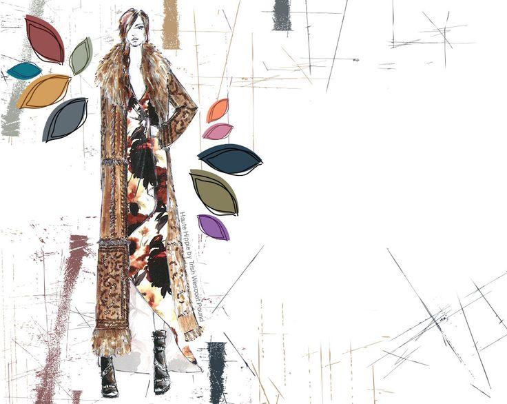 Pantone's Fashion Color Report FALL 2015 - Haute Hippie