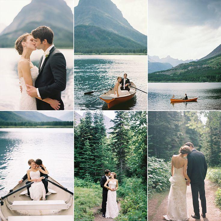 bethany & adam ~ glacier national park ~ montana wedding photographer » Birdsong Photography