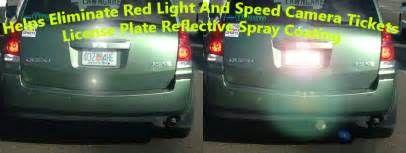 Search License plate spray red light camera. Views 1969.