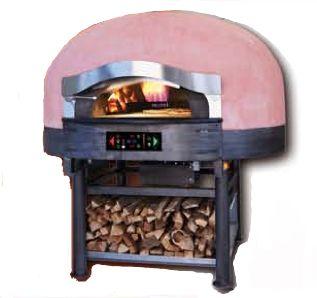 Pizza pec FWR-E na drevo + el.vyhrievaná rotačná doska