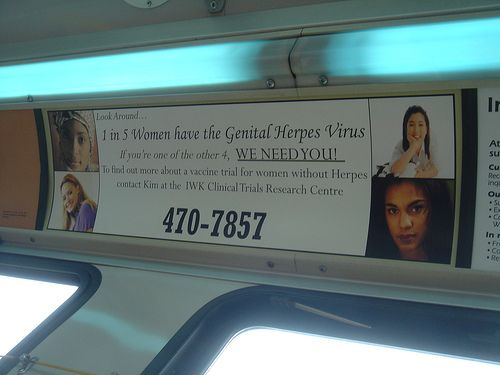 http://hsvtype1.com/can-herpes-be-cured.html Can hsv simplex virus be cured? Exploration and reports concerning this subject. 1 in 5 Women have the Genital Herpes Virus
