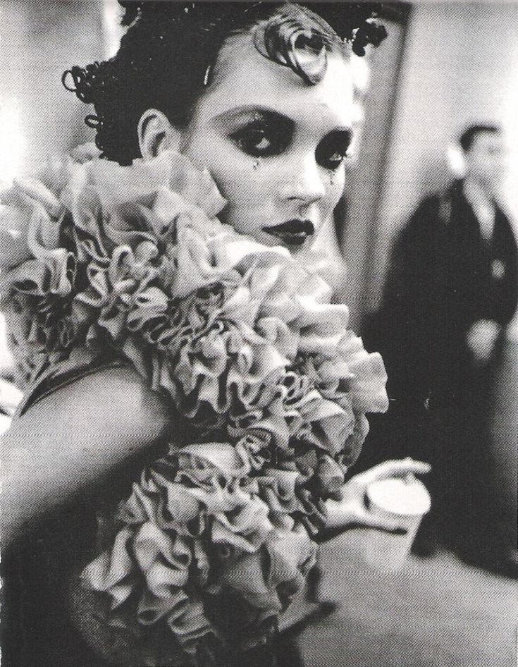 Kate Moss backstage at Galliano FW 1995.: Models, Galliano Fw, John Galliano, Style, Galliano 1995, F W 1995, Galliano F W, Kate Moss, Moss Backstage