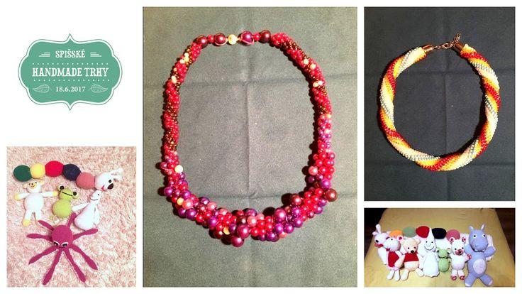 Jarmila Tatarková - háčkované hračky a háčkované náhrdelníky