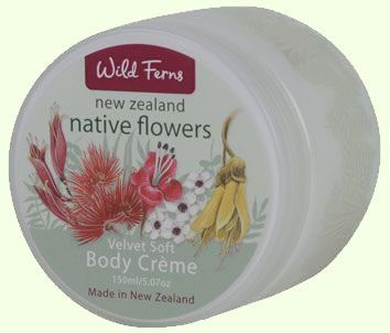 New Zealand Native Flowers Body Creme