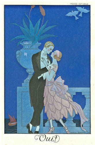 George Barbier, Oui, 1920s
