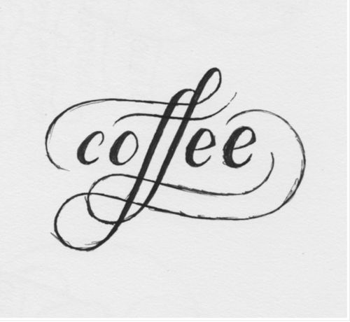 .: Scripts, Kitchens Wall, Coffee Typography, Art, Graphics Design, Things, Tattoo, Fonts, Letters