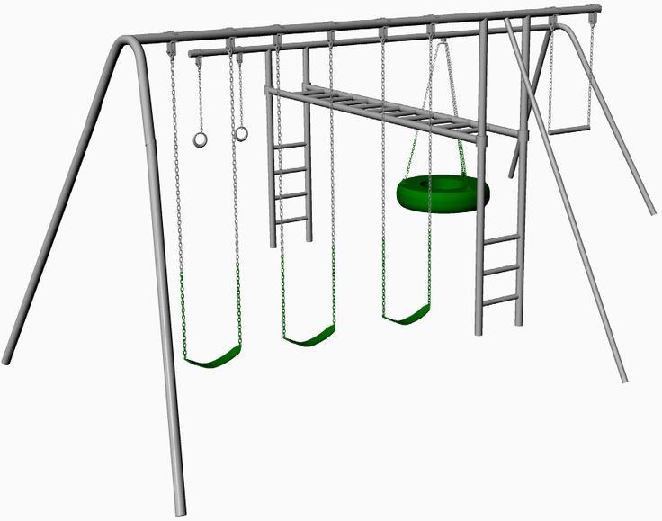 Hercules Metal Swing Set With Monkey Bars Dyi For Your Home Pinterest Sets Backyard Play And Kids