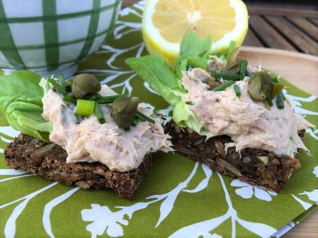 Saras madunivers: Hjemmelavet tunsalat til påskefrokosten.