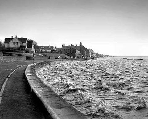 Parkgate at high tide The Wirral