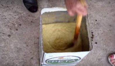 Φτιάχνω σαπούνι από λάδι ελιάς και στάχτη (BINTEO) ΠΙΣΩ ΑΠΟ ΤΟ ΠΑΡΑΠΕΤΑΣΜΑ